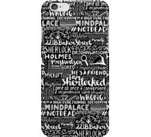 SHERLOCK 2 iPhone Case/Skin
