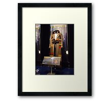 Doctor Who The Fourth Doctor Costume Framed Print