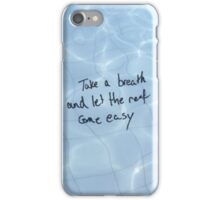 """All Time Low - """"Take a breath and let the rest come easy' - Dear Maria iPhone Case/Skin"""