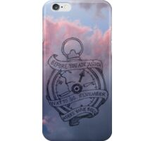 All Time Low - Stay Awake Lyrics iPhone Case/Skin