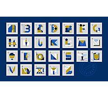 Post Alphabet Photographic Print