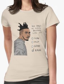 How Does Ol' Dirty Bastard Like It? Womens Fitted T-Shirt