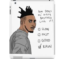 How Does Ol' Dirty Bastard Like It? iPad Case/Skin