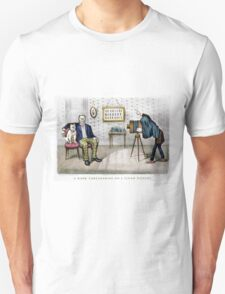 A dark foreshading - on a flash picture - 1890 T-Shirt