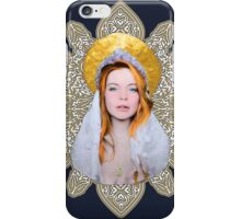 Saint Lindsay Icon Saturated 50 Beige Double Lace 2 iPhone Case/Skin