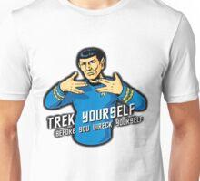 Star Trek - Trek Yourself Before You Wreck Yourself - Leonard Nimoy Tribute Unisex T-Shirt