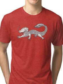 The Lucky Dragon Tri-blend T-Shirt