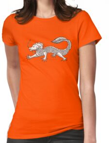 The Lucky Dragon Womens Fitted T-Shirt