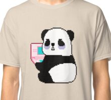 Panda Vaporwave Aesthetics Classic T-Shirt