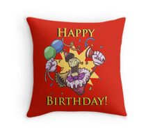 Happy Birthday from Fiddlestick - League of Legends Throw Pillow