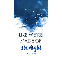 Starlight - Taylor Swift Photographic Print