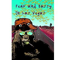 Fear and Sassy In Las Vegas Photographic Print