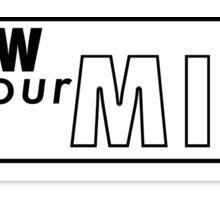 Renew Your Mind Sticker