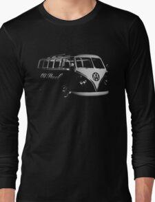 vw bus, Old Skool Long Sleeve T-Shirt