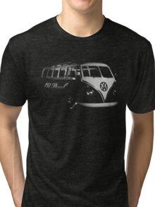 vw bus, Old Skool Tri-blend T-Shirt