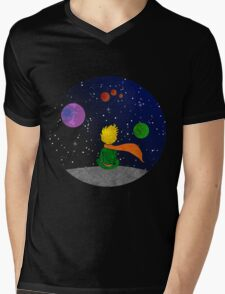 The child and the sky. Mens V-Neck T-Shirt
