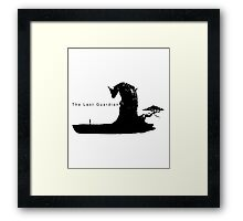 the last guardian Framed Print