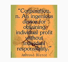 Corporation - Bierce Unisex T-Shirt
