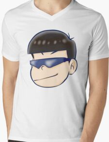 Anime Fashion: Painful Karamatsu  Mens V-Neck T-Shirt