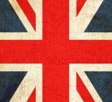 Vintage Union Jack British Flag Sticker