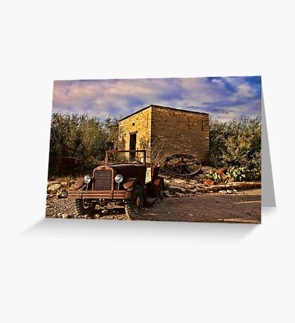 Terlingua Ghost Town Greeting Card