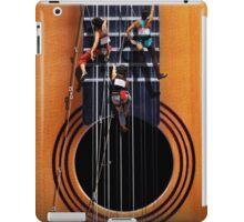 Surreal Guitar Climbers iPad Case/Skin