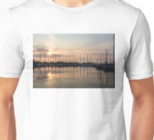 Crepuscular Rays - Golden Sunbeams Sunset Unisex T-Shirt