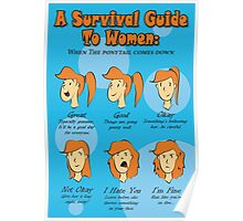 Survival Guide To Women Poster