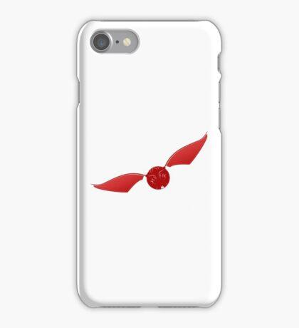 Snitch maroon iPhone Case/Skin