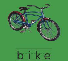 Vintage Bicycle Baby Tee