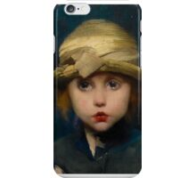Marianne Stokes - A Tearful Child iPhone Case/Skin