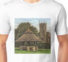 The old well on the green, Woodbastwick Unisex T-Shirt