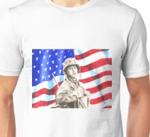 American Soldier in Korea Unisex T-Shirt