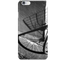 bicycle shadow, Yokohama Japan iPhone Case/Skin