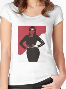 ANTi Minaj Women's Fitted Scoop T-Shirt