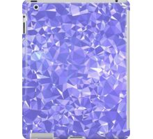 Purple Triangles iPad Case/Skin
