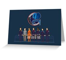 Star Trek: Enterprise - Pixelart crew Greeting Card