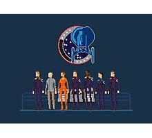 Star Trek: Enterprise - Pixelart crew Photographic Print