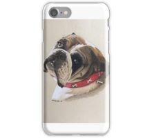 Trixie the beautiful British Bulldog iPhone Case/Skin