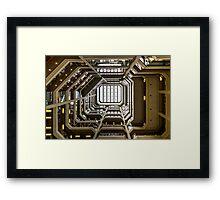 Atrium at Bay Framed Print