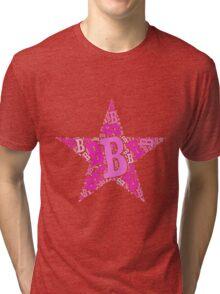 Word Art B Tri-blend T-Shirt