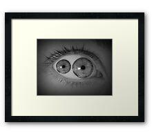 Mutant Eye  Framed Print