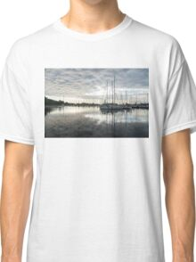 Downy Soft Clouds at the Marina Classic T-Shirt