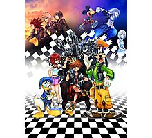 Kingdom Hearts - Sora s Throne Photographic Print