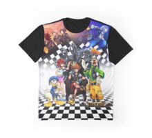 Kingdom Hearts - Sora's Throne Graphic T-Shirt