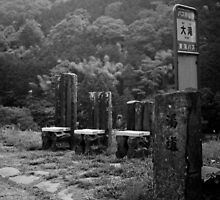 Bus stop, Izu Japan by Jordi Vollom