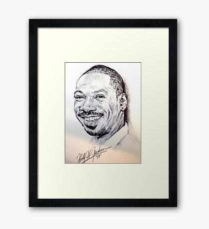 Eddie Murphy Framed Print