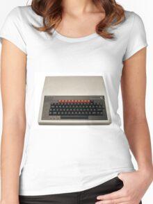 Retro Computing - BBC Micro Women's Fitted Scoop T-Shirt