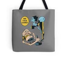 TT Schmootkins and Stinky The Game Master Tote Bag