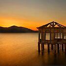 Sunset of the forgotten pavillion by Hercules Milas